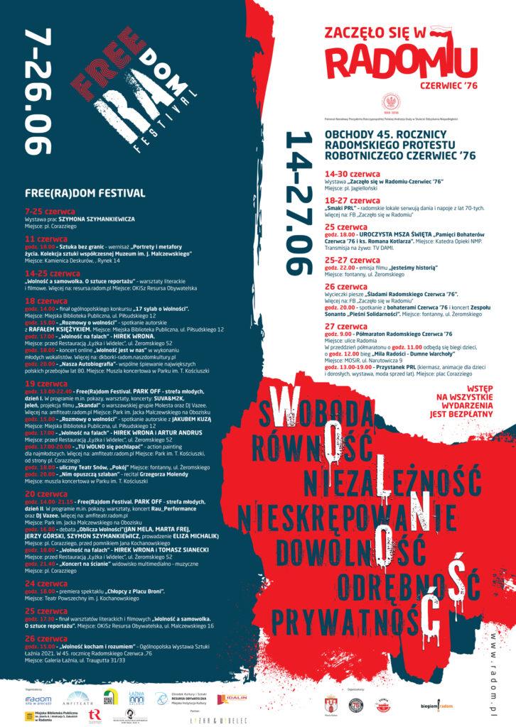 freeradom festival program